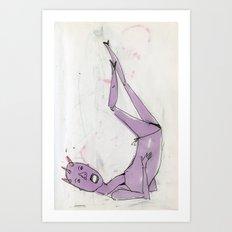 sexy ladies 3 Art Print
