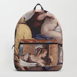 Sebastiano Ricci - Bathseba at her bath Backpack
