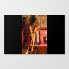 b&k Canvas Print