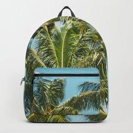Coconut Palm Trees Sugar Beach Kihei Maui Hawaii Backpack