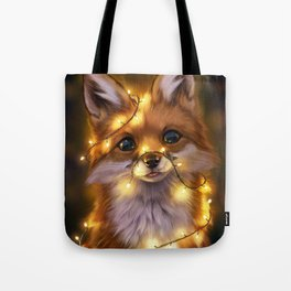 Fairy Lights Tote Bag