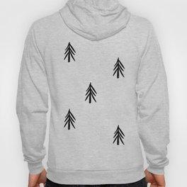 nordic fir trees Hoody