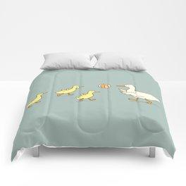 fowl play Comforters