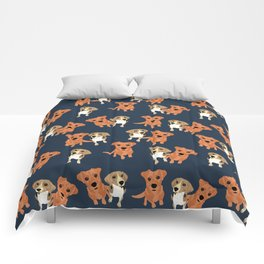 Cleo and Ginger Pattern Comforters