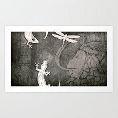 Lost City 2 Art Print