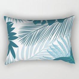 tropic leaves Rectangular Pillow
