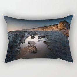 Nash Point Rock Pool Rectangular Pillow