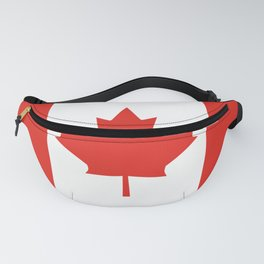 Red and White Canadian Flag Fanny Pack