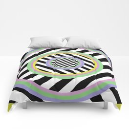 Circles, stripes and pastel colours Comforters