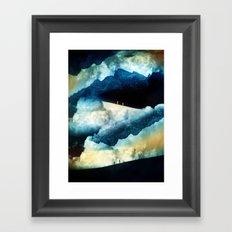 State of isolation Framed Art Print