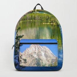 Grand Teton National Park Jenny Lake Alpine Mountains Hike Backpack