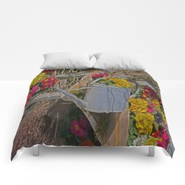 wake up Spring in Laupheim Comforters