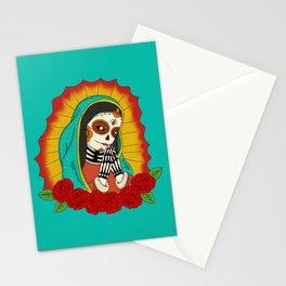 Virgin de Guadalupe Sugar Skull Stationery Cards