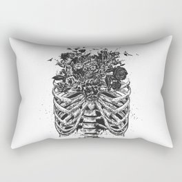New life (b&w) Rectangular Pillow