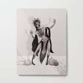 Queen of the Damned Metal Print
