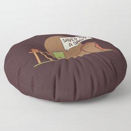 Saved You a Spot Floor Pillow