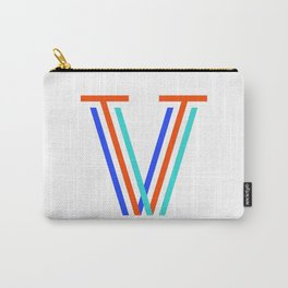 Letter V Carry-All Pouch