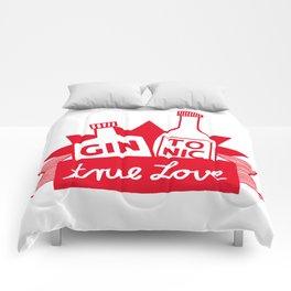 Gin Tonic True Love Comforters