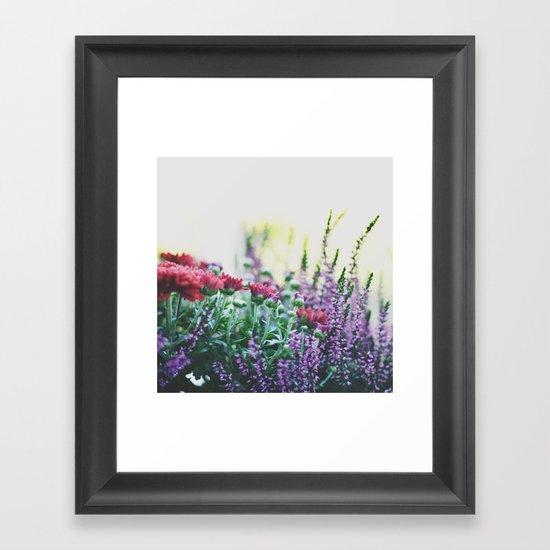 FANTASY COLORS Framed Art Print
