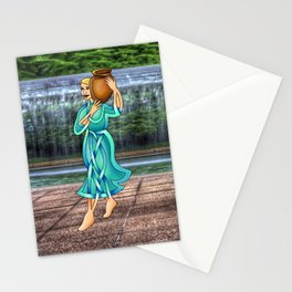 Waterbearer Knot Stationery Cards