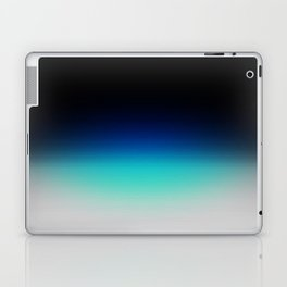 Blue Gray Black Ombre Laptop & iPad Skin