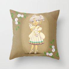 Retro Sailor Cosmos Throw Pillow