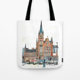 St Pancras railway station, London Tote Bag