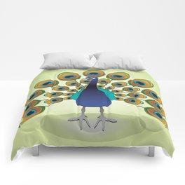 Peacock Comforters
