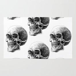 Skull pattern 2 Rug