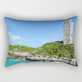Blue Lagoon Island, Bahamas Rectangular Pillow