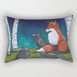 The Fox King Rectangular Pillow