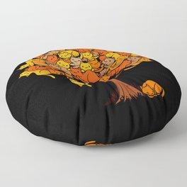 Cat Tree Floor Pillow