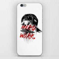 HARD WORK. iPhone & iPod Skin