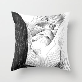 Love to Watch Throw Pillow