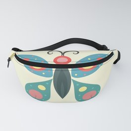 Colorful butterfly Fanny Pack