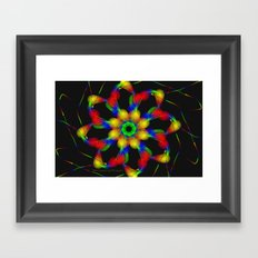 Fractal Framed Art Print