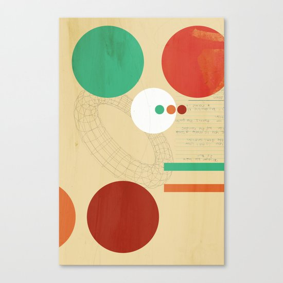 Orbital Secret Canvas Print