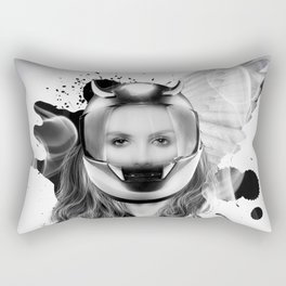 harley girl Rectangular Pillow