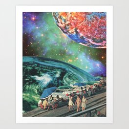 Leisurely Expedition Art Print