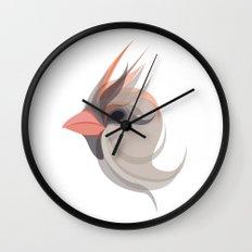 Pink in bird Wall Clock
