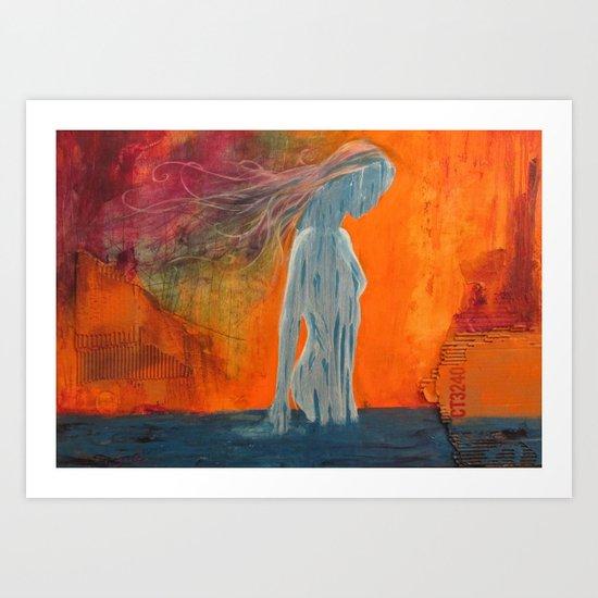 Sin Nombre Art Print
