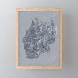 Wings of Winter Framed Mini Art Print