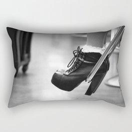 A Girl's Best Friend Rectangular Pillow