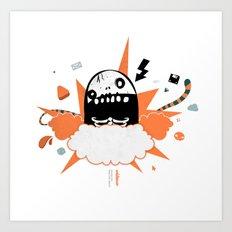 Mr wideo1 Art Print