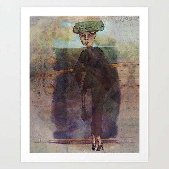 Du Pont II Art Print