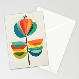 Whimsical Bloom Stationery Cards
