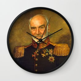 Sir Sean Connery - replaceface Wall Clock