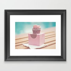 Californian Cupcake Framed Art Print