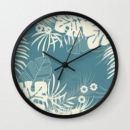 Tropical pattern 047 Wall Clock