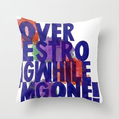 Lover Be Strong Throw Pillow